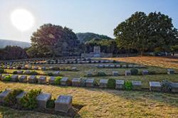 Graves and Memorial at Gallipoli
