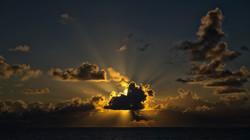 Sunset in Fakarava