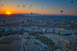 Canyons, Balloons and Sunrise