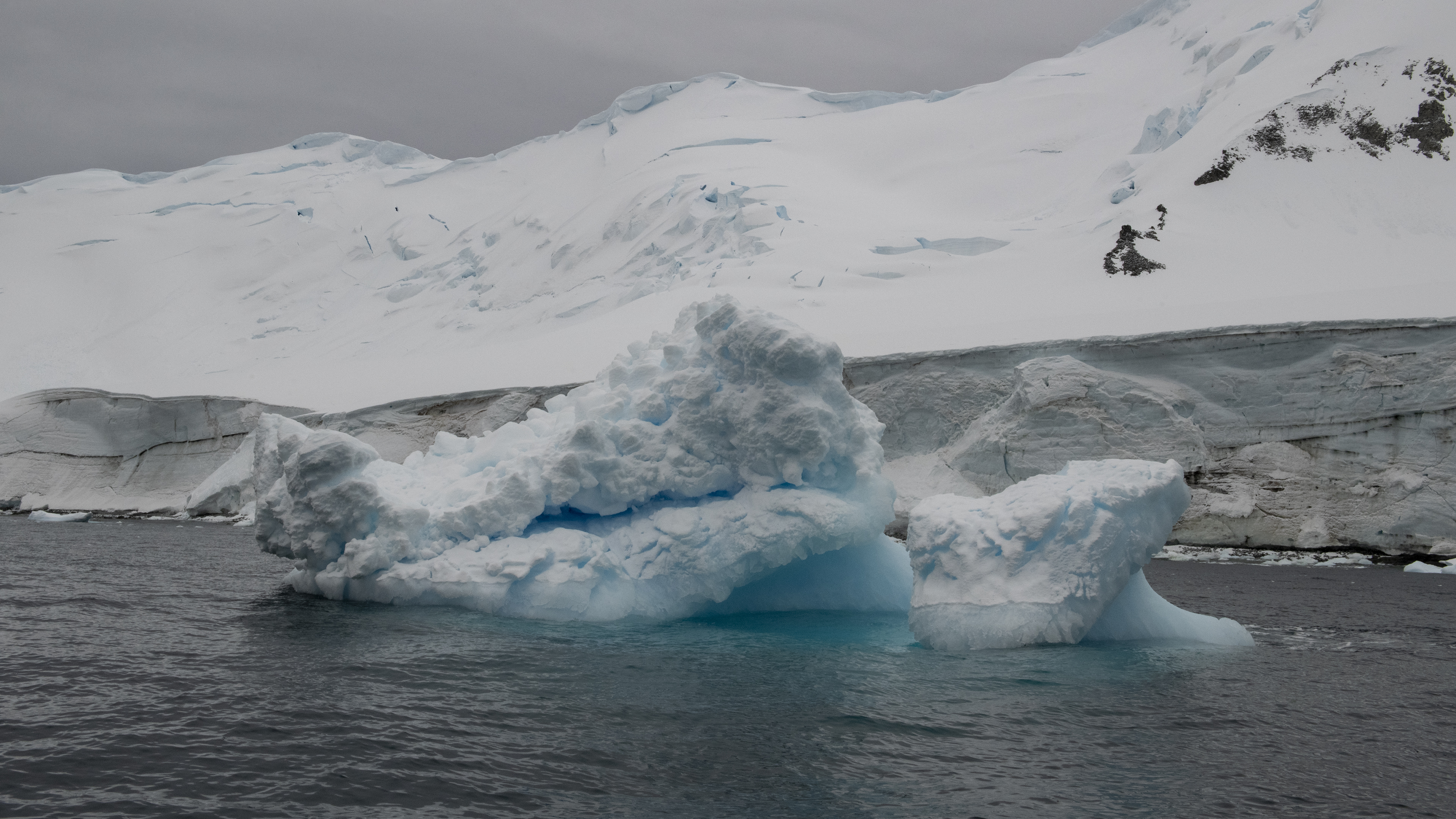Blue Ice near Astrolabe lsland