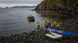 Coming Ashore in Cape Horn