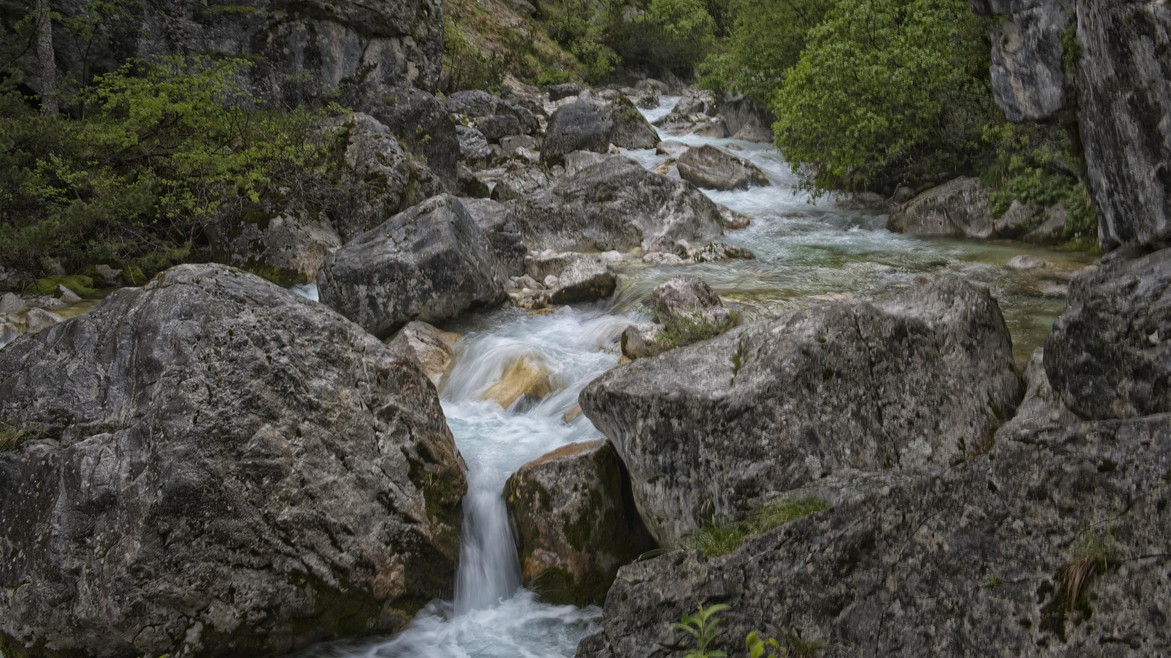 Stream in Špik, Slovenia