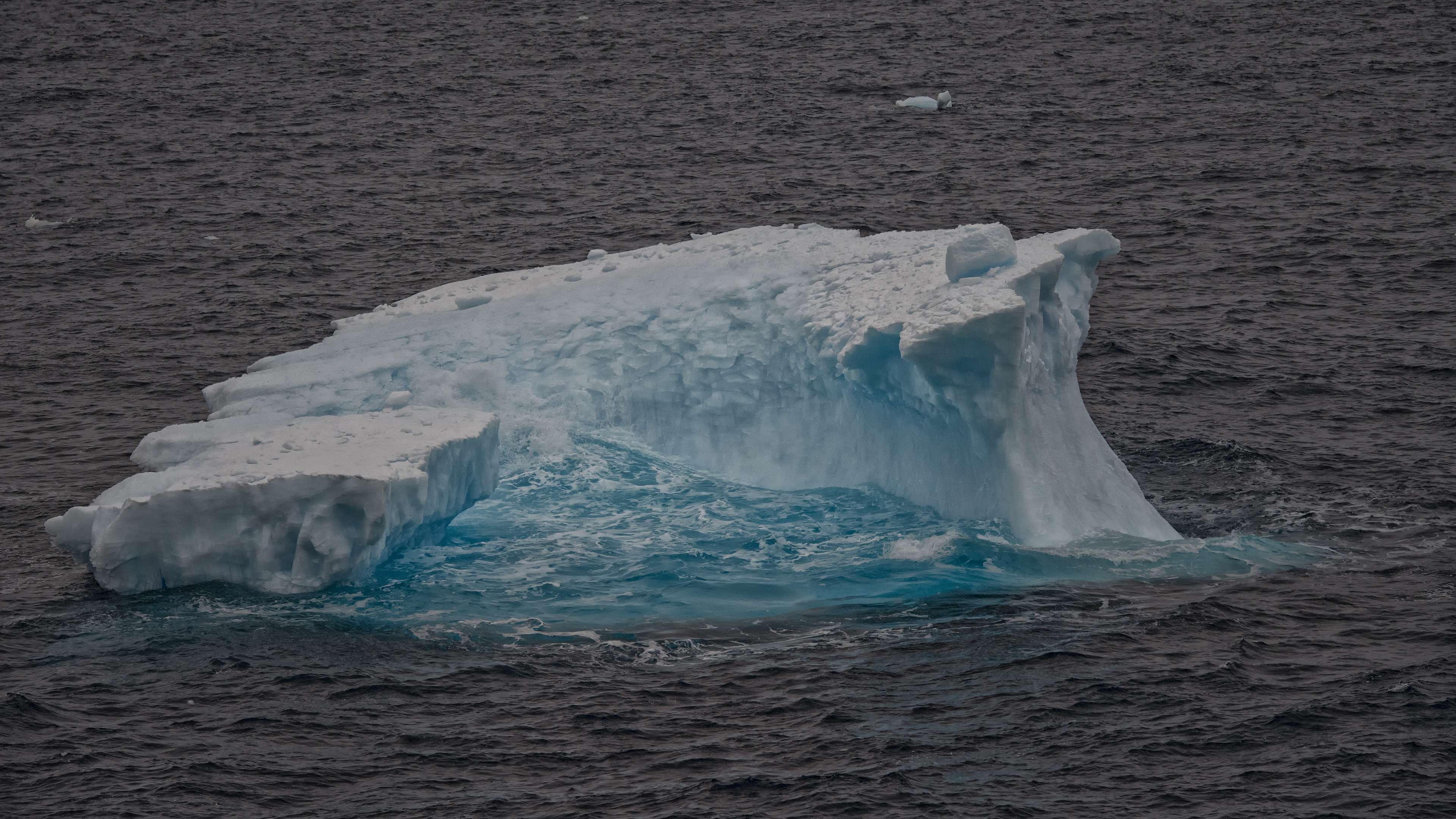 Blue Ice in the Antarctic