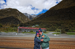 TranzAlpine train journey