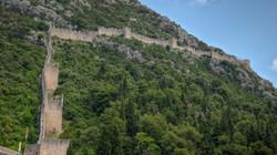 Walls of Ston in Croatia