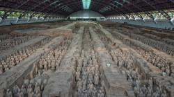 Terra Cotta Warriors in Xian, China