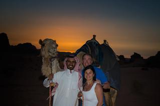 Wadi-Rum, Jordan, Sunset