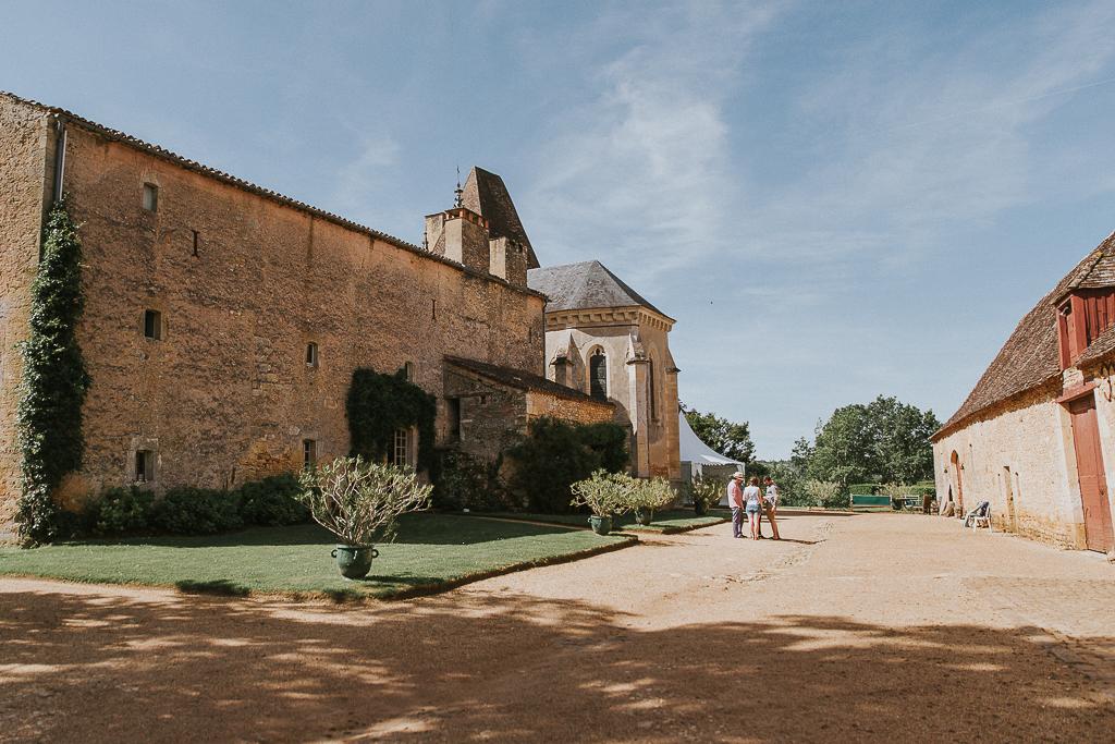 photographe mariage Dordogne - chateau La Bourlie --7