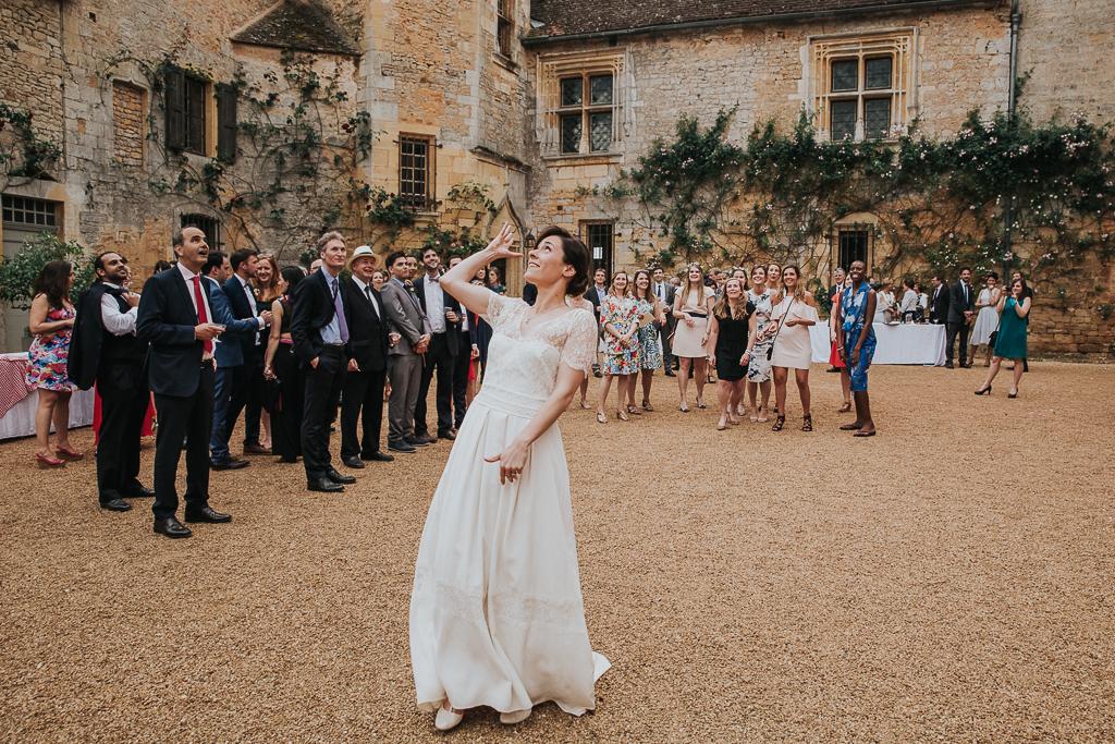 photographe mariage Dordogne - chateau La Bourlie --85