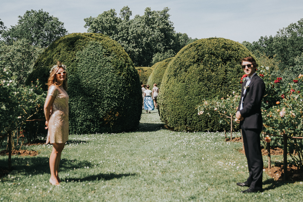photographe mariage Dordogne - chateau La Bourlie --53
