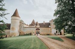 photographe mariage Dordogne - chateau La Bourlie --73