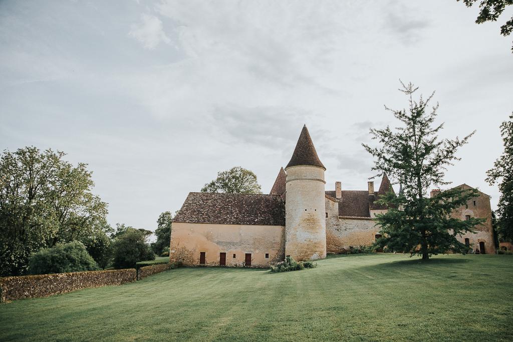 photographe mariage Dordogne - chateau La Bourlie --75