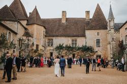 photographe mariage Dordogne - chateau La Bourlie --84