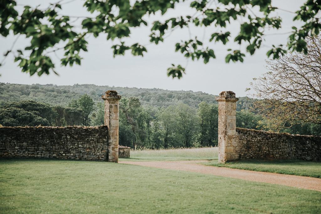 photographe mariage Dordogne - chateau La Bourlie --76
