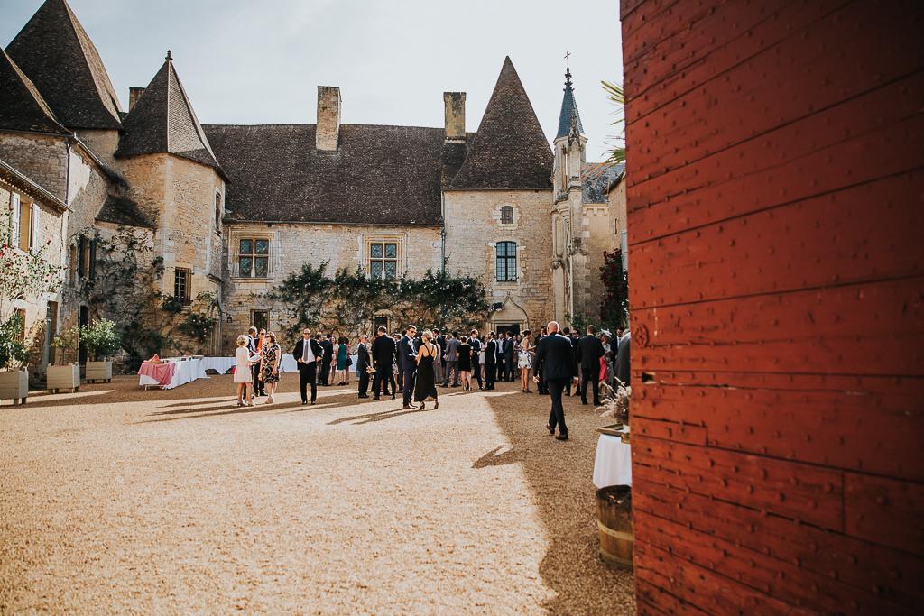photographe mariage Dordogne - chateau La Bourlie --70