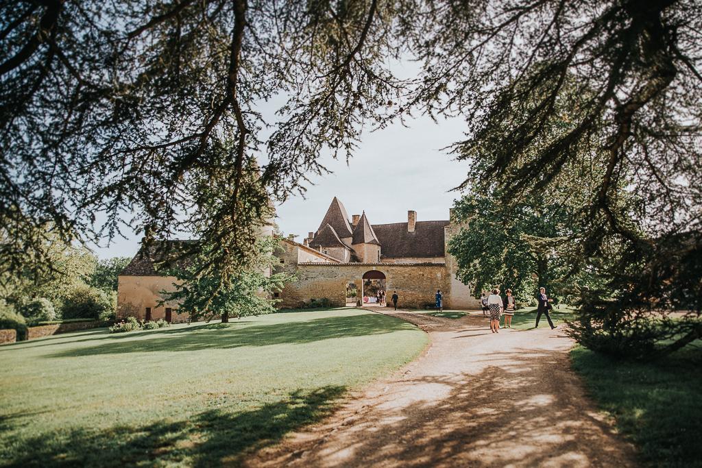 photographe mariage Dordogne - chateau La Bourlie --69