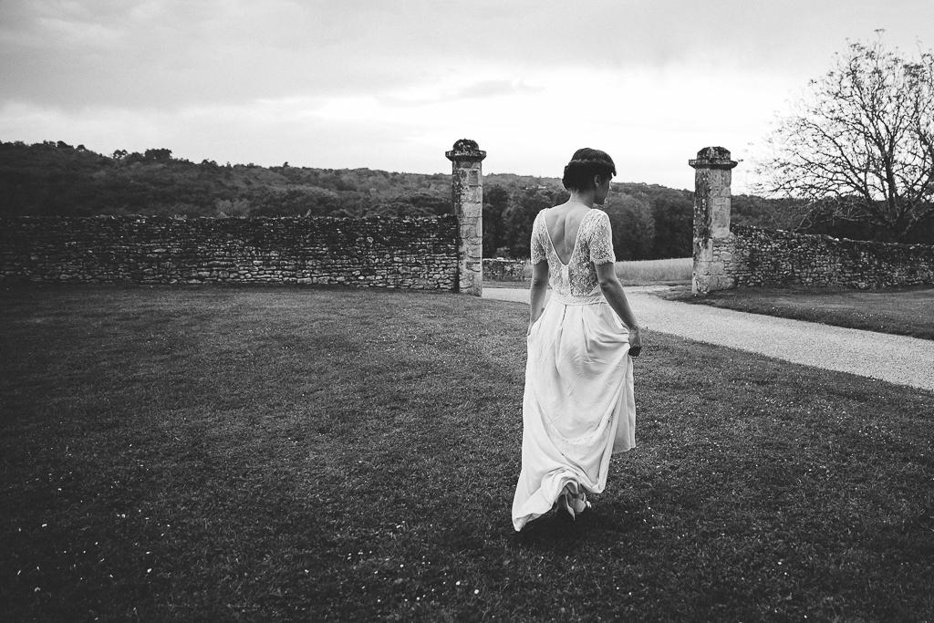 photographe mariage Dordogne - chateau La Bourlie --95