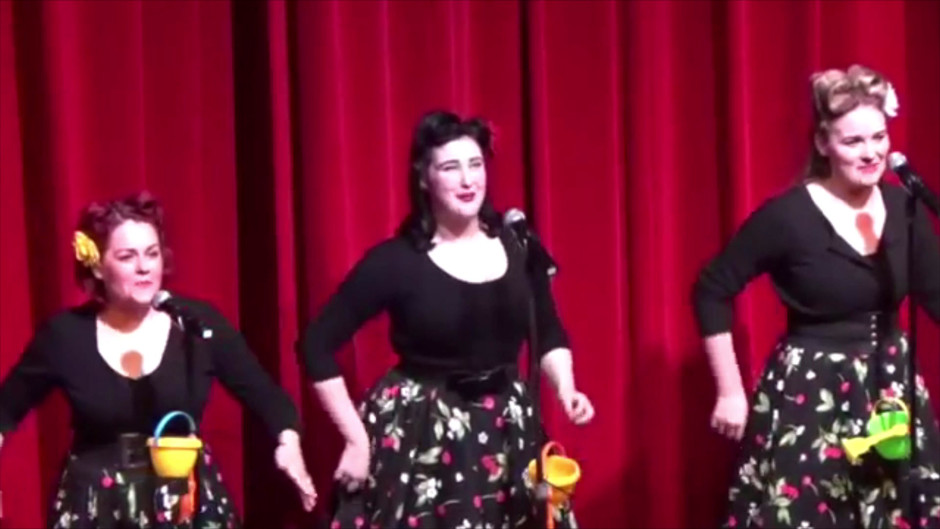 Boogie Woogie Bugle Boy 2017 - Alto Harmony (NB Louella is Blonde in this footage)