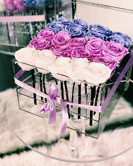 Purple Ombre Roses