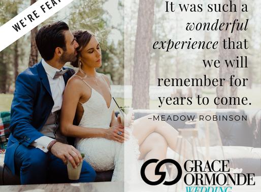 We're featured on Grace Ormonde Wedding Style Magazine!