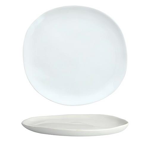 """Melamine Sandia Bianco Dinner Plate 11"""""""