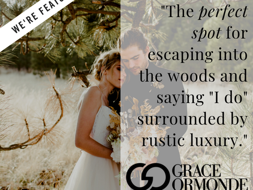 """The perfect spot for escaping into the woods and saying ""I do"" surrounded by rustic"