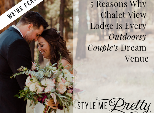 We're featured on Style Me Pretty!