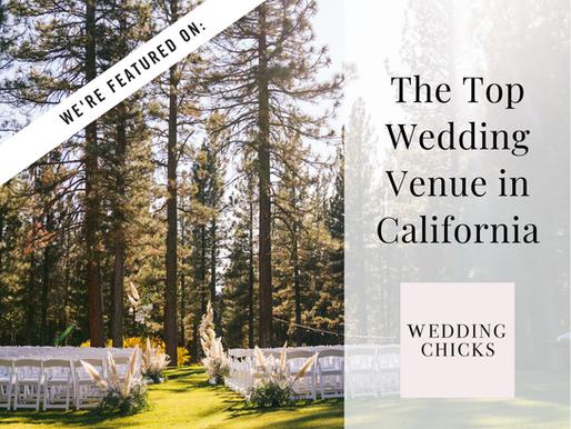 We're Named Top Wedding Venue in California