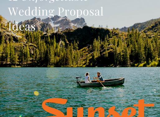 12 Unforgettable Wedding Proposal Ideas