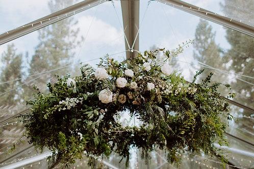 Floral Chandelier Structure