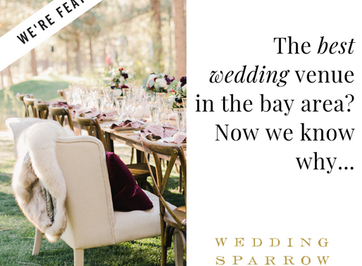 We're Featured on Wedding Sparrow!