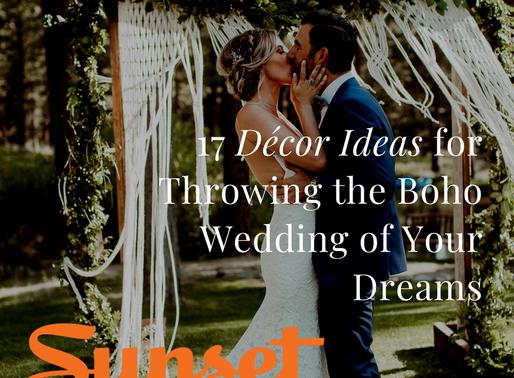 17 Décor Ideas for Throwing the Boho Wedding of Your Dreams