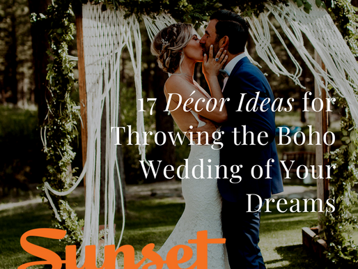 17 Décor Ideas for Throwing the Boho Wedding of Your Dreams