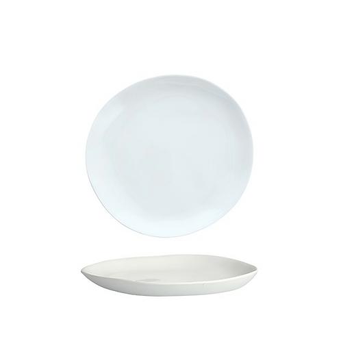 "Melamine Sandia Bianco Salad Plate 7.75"""