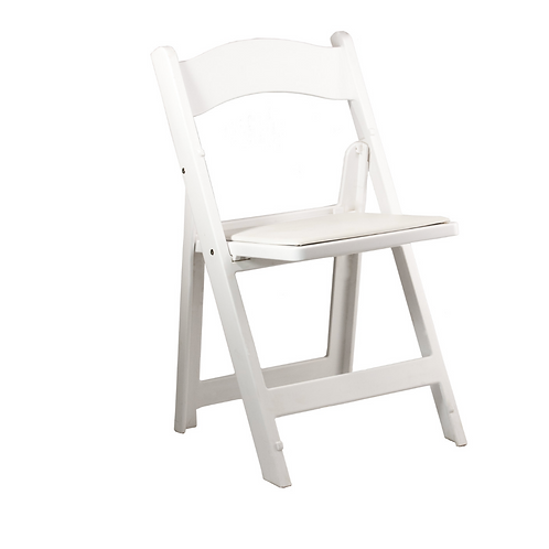 White Padded Ceremony Chairs