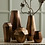 Thumbnail: Faceted Metal Vases