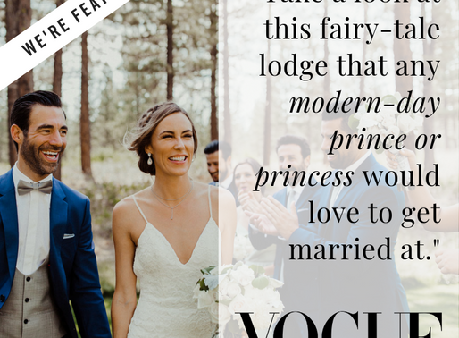 We're Featured in Vogue!