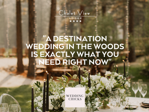 A Destination Wedding In the Woods Is Exactly What You Need Right Now