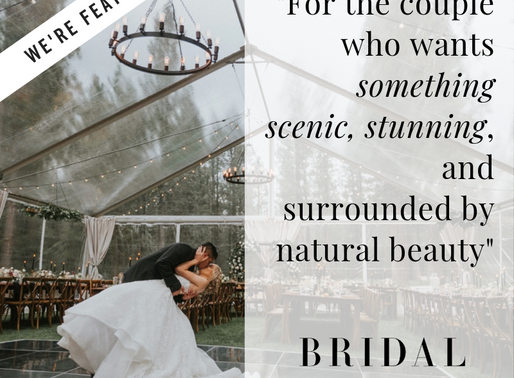 We're Featured on Bridal Musings!
