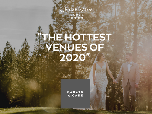 "We're named one of ""The Hottest Venues of 2020!"""
