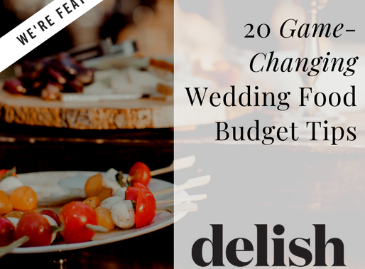 20 Game-Changing Wedding Food Budget Tips From Caterers And Wedding Planners