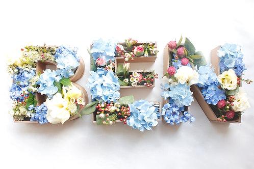 Flower Letter Box