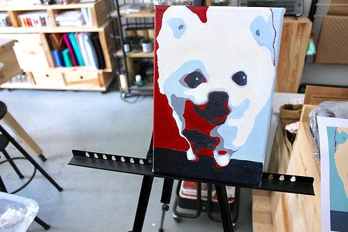 Pop Art Painting DIY