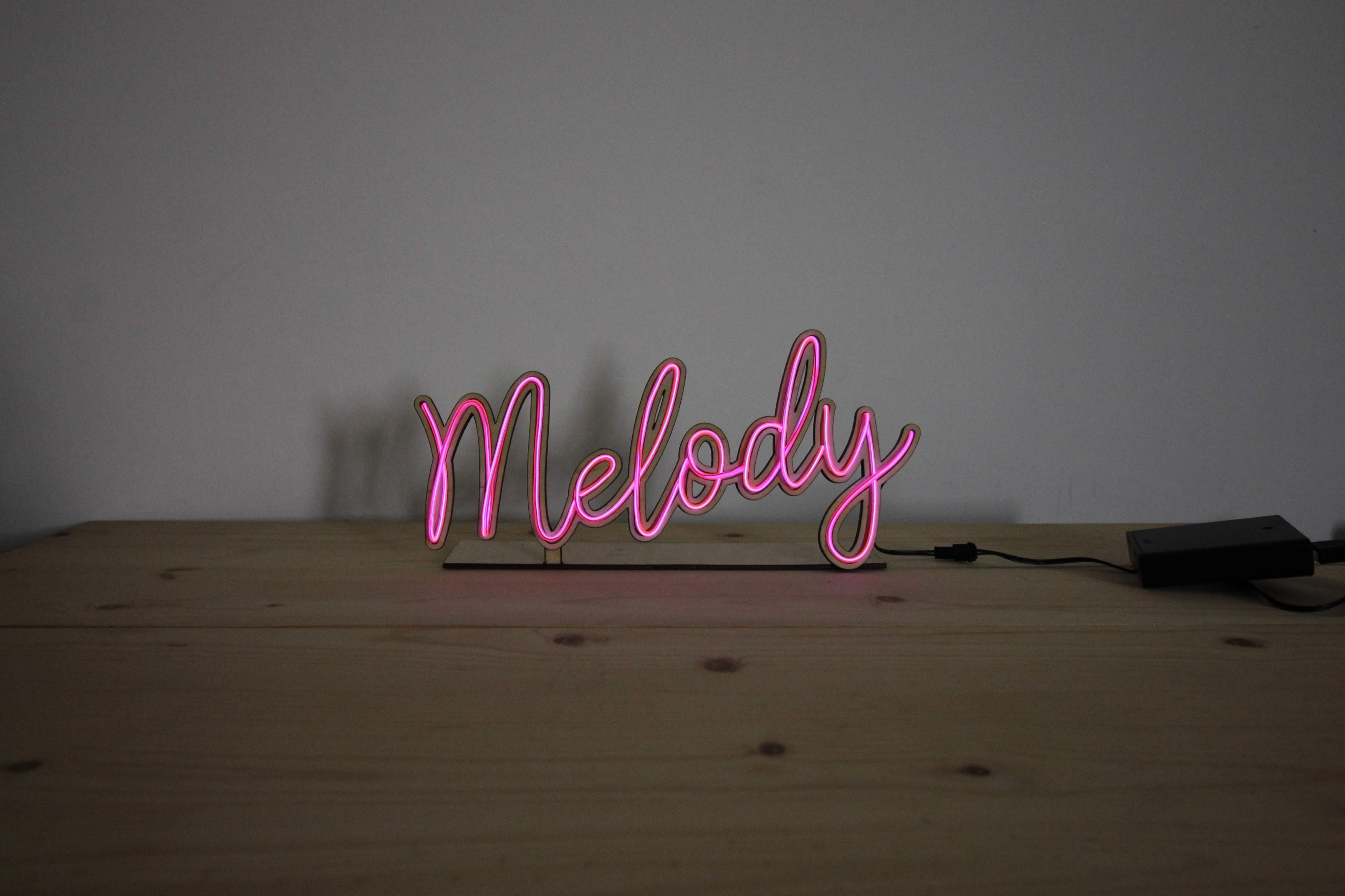 ◉★ Wood Neon