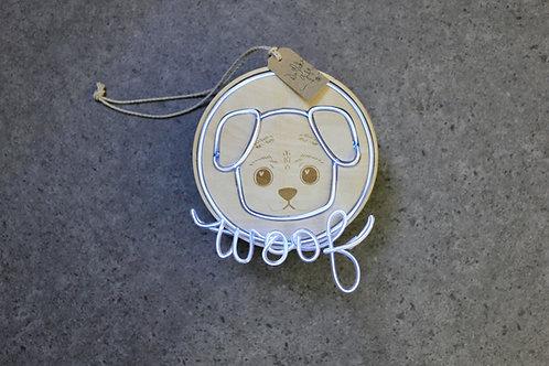 Neon Wood Ornament DIY Set