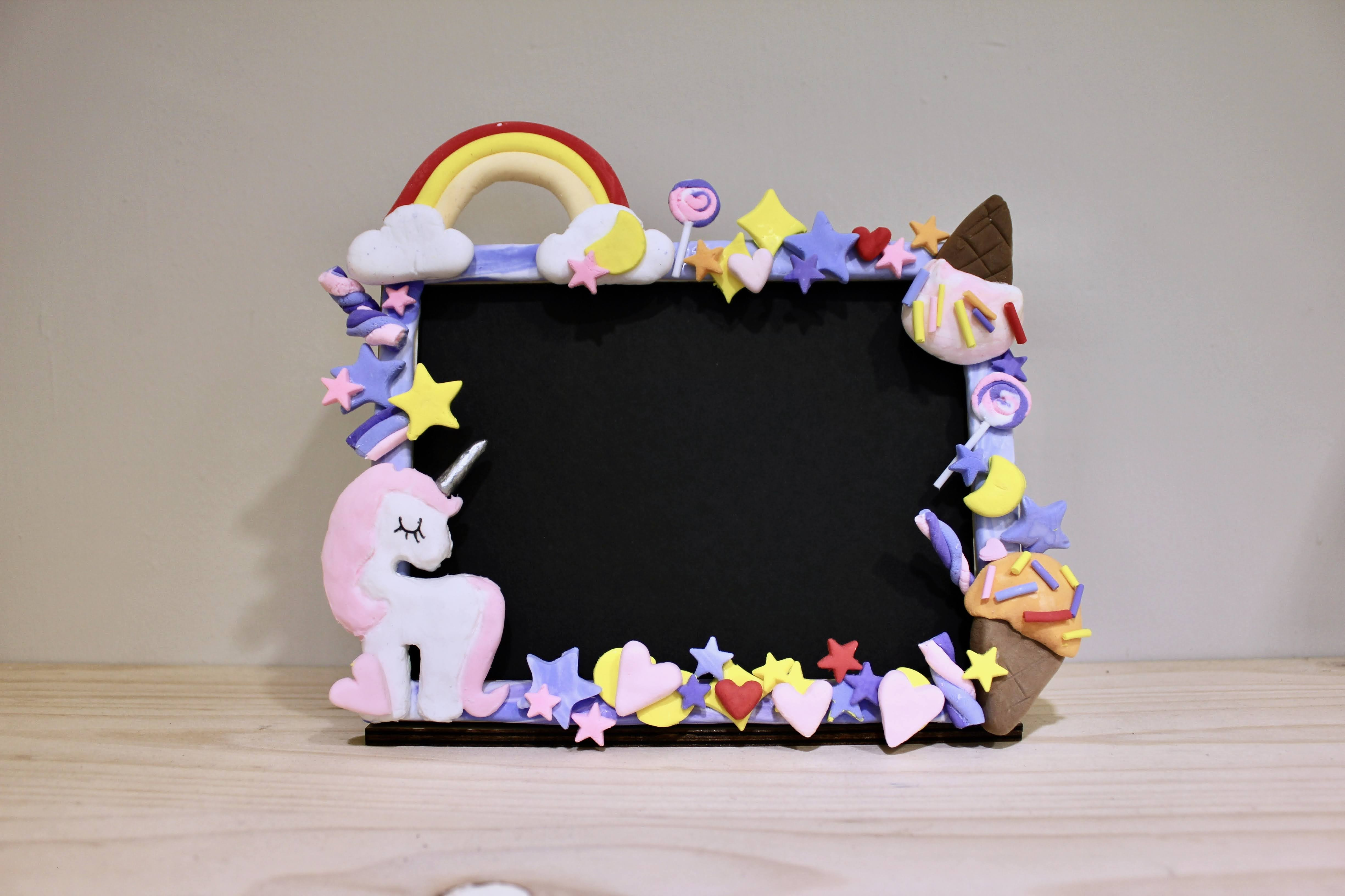 ◉★ Clay Photo Frame