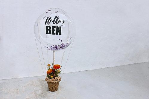Balloon Flower Messanger