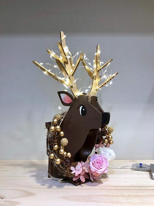 Wood Animal Wreath