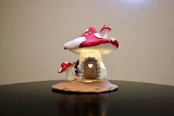 ◉★ Clay Lamp