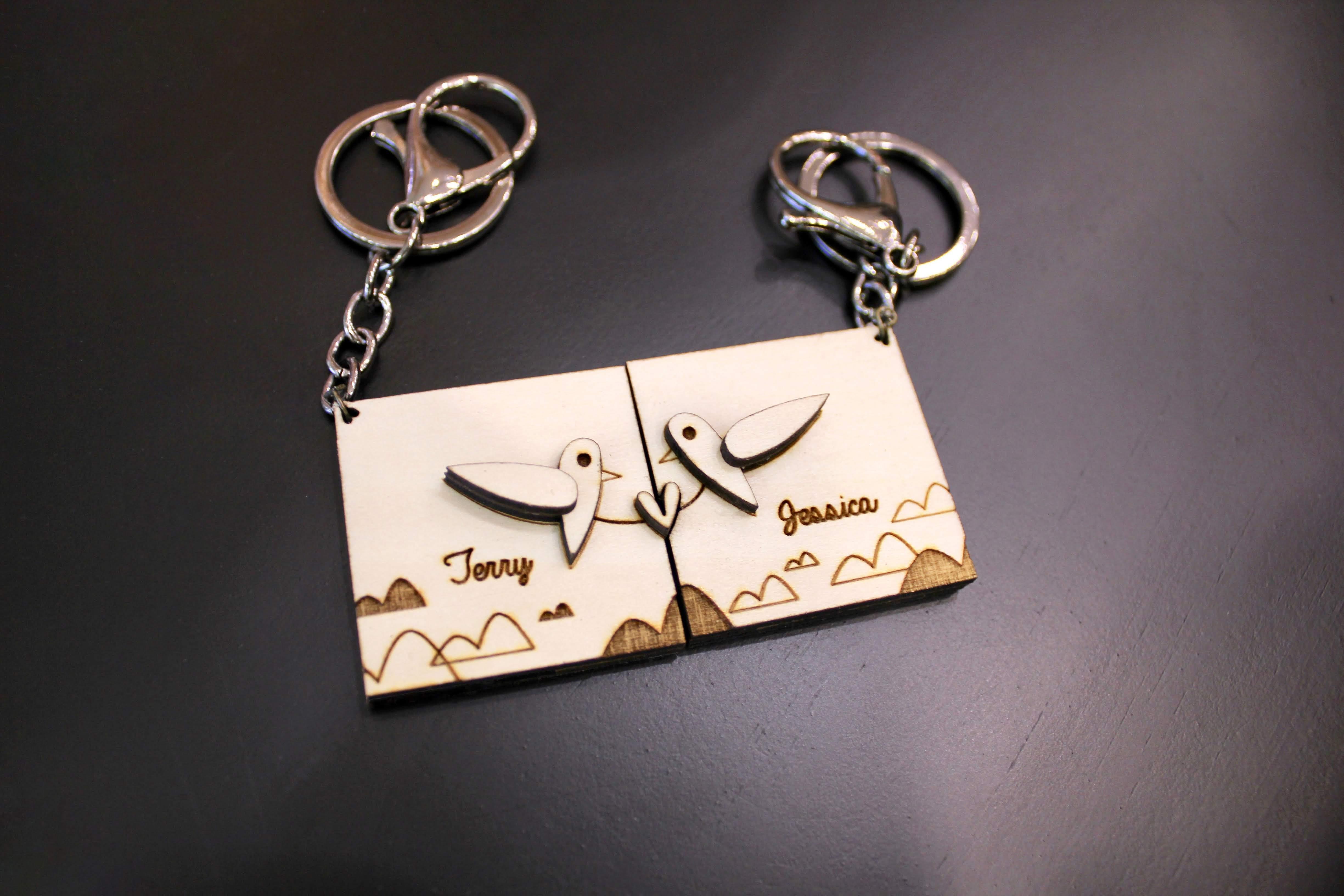 ◉★ SumSum Bird Keychain